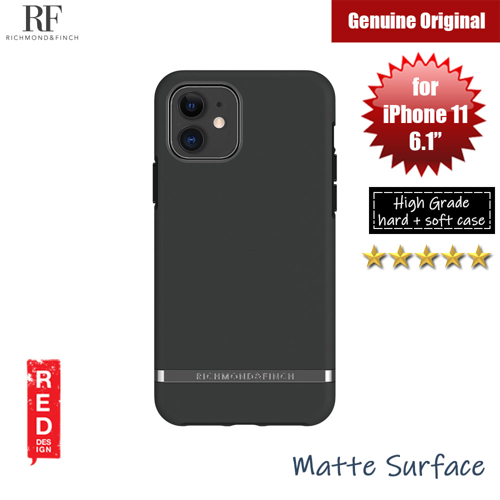 Picture of Richmond and Finch unique design protection case for Apple iPhone 11 6.1 (Black Out) Apple iPhone 11 6.1- Apple iPhone 11 6.1 Cases, Apple iPhone 11 6.1 Covers, iPad Cases and a wide selection of Apple iPhone 11 6.1 Accessories in Malaysia, Sabah, Sarawak and Singapore