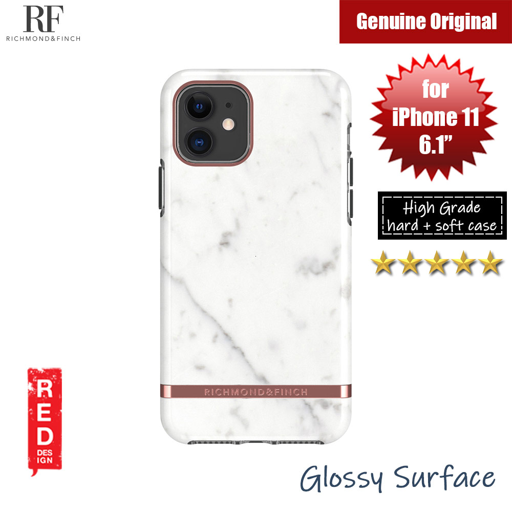 Picture of Apple iPhone 11 Pro 5.8 Case | Richmond and Finch unique design protection case for Apple iPhone 11 Pro 5.8 (White Marble)