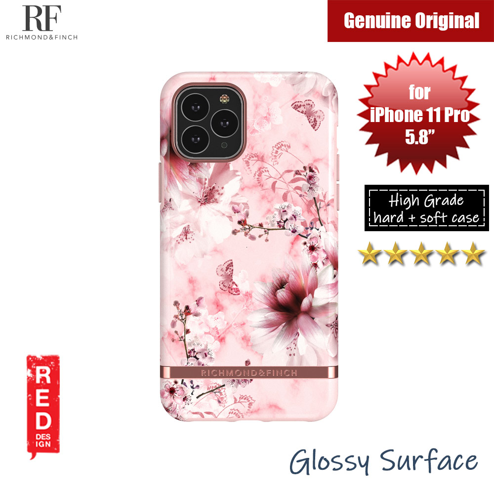 Picture of Richmond and Finch unique design protection case for Apple iPhone 11 Pro 5.8 (Pink Marble Floral) Apple iPhone 11 Pro 5.8- Apple iPhone 11 Pro 5.8 Cases, Apple iPhone 11 Pro 5.8 Covers, iPad Cases and a wide selection of Apple iPhone 11 Pro 5.8 Accessories in Malaysia, Sabah, Sarawak and Singapore