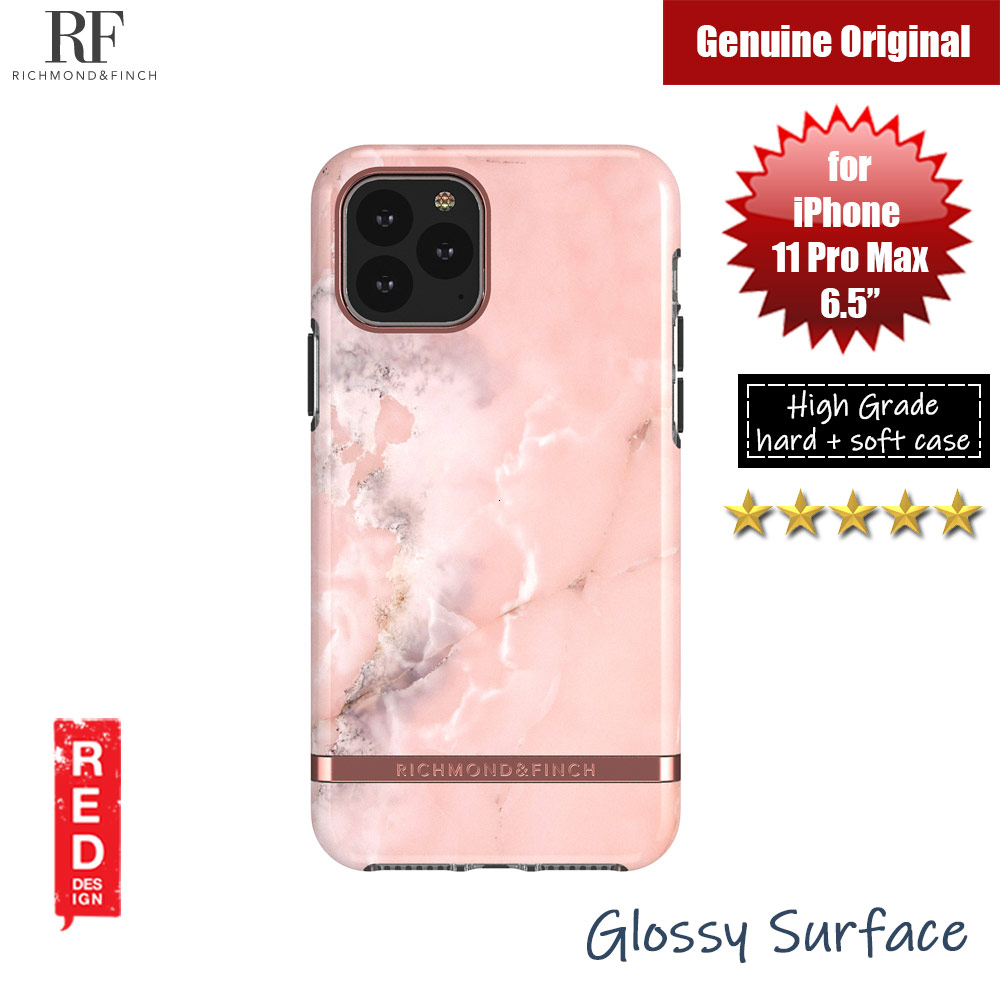 Picture of Richmond and Finch unique design protection case for Apple iPhone 11 Pro Max 6.5 (Pink Marble) Apple iPhone 11 Pro Max 6.5- Apple iPhone 11 Pro Max 6.5 Cases, Apple iPhone 11 Pro Max 6.5 Covers, iPad Cases and a wide selection of Apple iPhone 11 Pro Max 6.5 Accessories in Malaysia, Sabah, Sarawak and Singapore