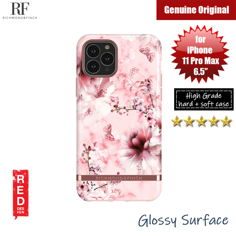 Picture of Richmond and Finch unique design protection case for Apple iPhone 11 Pro Max 6.5 (Pink Marble Floral) Apple iPhone 11 Pro Max 6.5- Apple iPhone 11 Pro Max 6.5 Cases, Apple iPhone 11 Pro Max 6.5 Covers, iPad Cases and a wide selection of Apple iPhone 11 Pro Max 6.5 Accessories in Malaysia, Sabah, Sarawak and Singapore