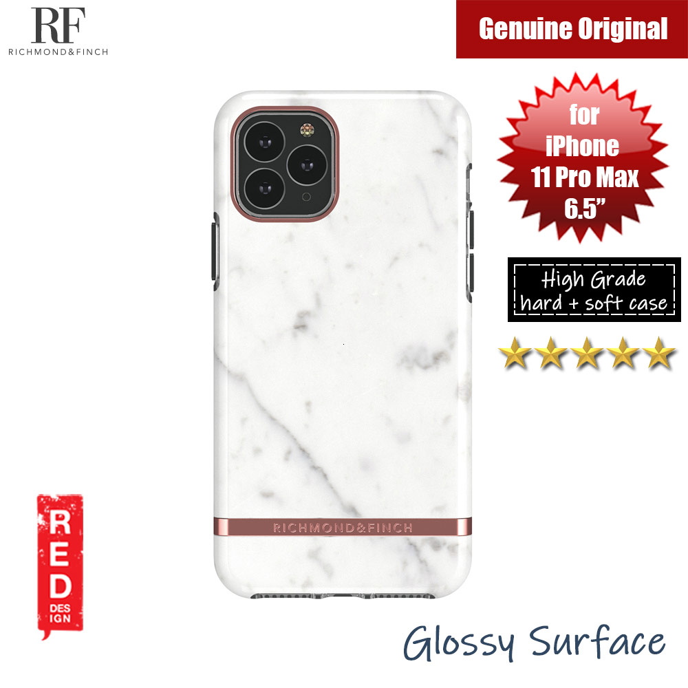Picture of Richmond and Finch unique design protection case for Apple iPhone 11 Pro Max 6.5 (White Marble) Apple iPhone 11 Pro Max 6.5- Apple iPhone 11 Pro Max 6.5 Cases, Apple iPhone 11 Pro Max 6.5 Covers, iPad Cases and a wide selection of Apple iPhone 11 Pro Max 6.5 Accessories in Malaysia, Sabah, Sarawak and Singapore