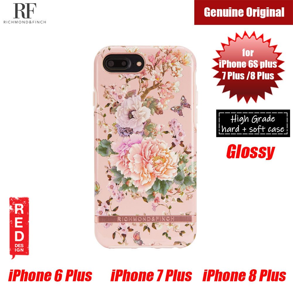 Picture of Richmond and Finch unique design for female protection case for Apple iPhone 6S Plus 7 Plus 8 Plus (Peonies and Butterflies) Apple iPhone 8 Plus- Apple iPhone 8 Plus Cases, Apple iPhone 8 Plus Covers, iPad Cases and a wide selection of Apple iPhone 8 Plus Accessories in Malaysia, Sabah, Sarawak and Singapore