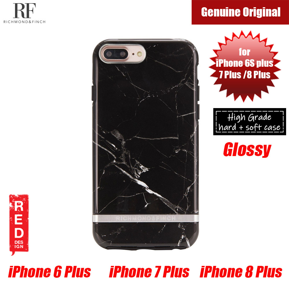 Picture of Richmond and Finch unique design for female protection case for Apple iPhone 6S Plus 7 Plus 8 Plus (Black Marble) Apple iPhone 8 Plus- Apple iPhone 8 Plus Cases, Apple iPhone 8 Plus Covers, iPad Cases and a wide selection of Apple iPhone 8 Plus Accessories in Malaysia, Sabah, Sarawak and Singapore