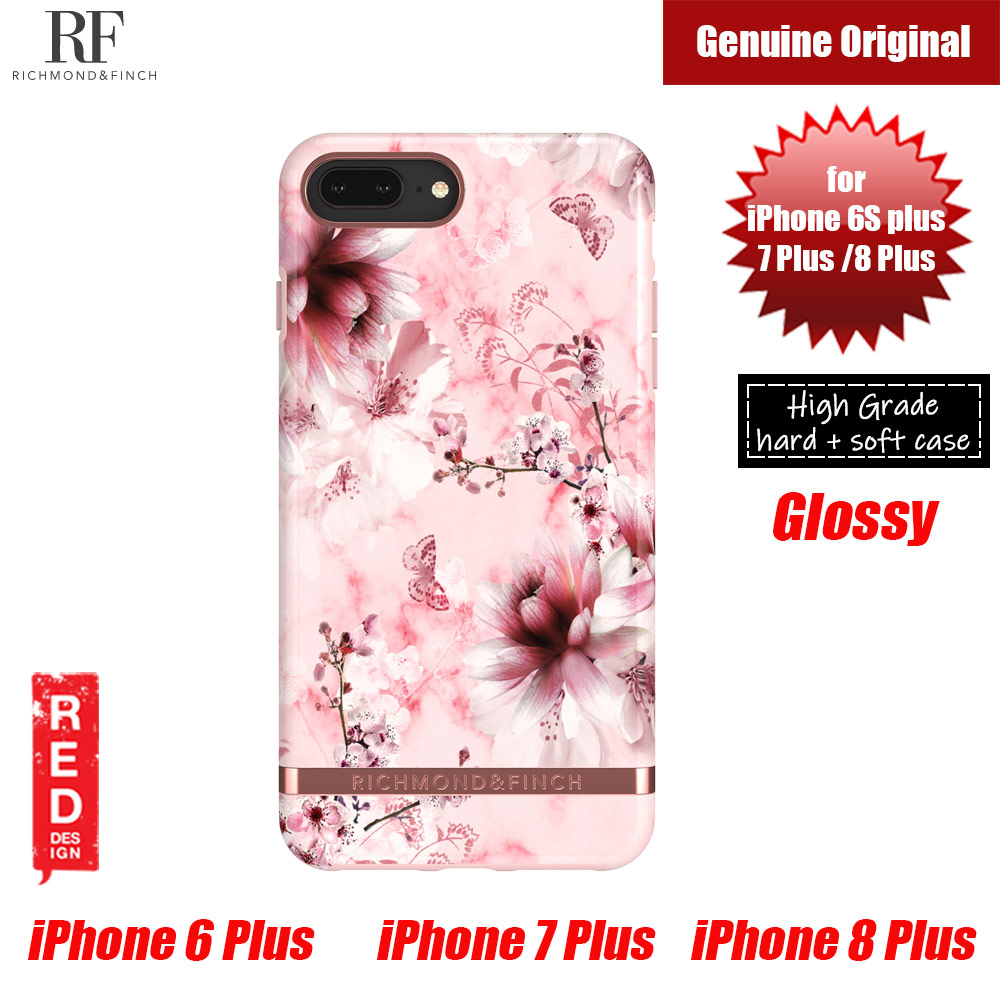 Picture of Richmond and Finch unique design for female protection case for Apple iPhone 6S Plus 7 Plus 8 Plus (PINK MARBLE FLORAL) Apple iPhone 6S Plus 5.5- Apple iPhone 6S Plus 5.5 Cases, Apple iPhone 6S Plus 5.5 Covers, iPad Cases and a wide selection of Apple iPhone 6S Plus 5.5 Accessories in Malaysia, Sabah, Sarawak and Singapore