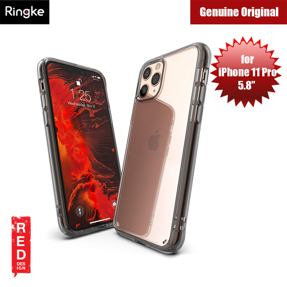 Picture of Ringke Fusion Extreme Tough Protection for Apple iPhone 11 Pro (Smoke Black) Apple iPhone 11 Pro 5.8- Apple iPhone 11 Pro 5.8 Cases, Apple iPhone 11 Pro 5.8 Covers, iPad Cases and a wide selection of Apple iPhone 11 Pro 5.8 Accessories in Malaysia, Sabah, Sarawak and Singapore