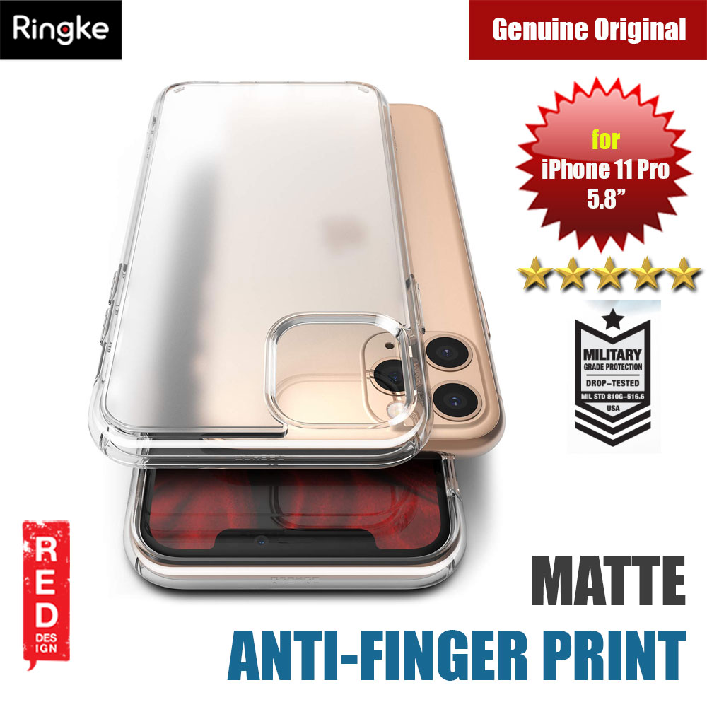 Picture of Ringke Fusion Matte Anti Fingerprint Extreme Tough Protection for Apple iPhone 11 Pro 5.8 (Matte Clear) Apple iPhone 11 Pro 5.8- Apple iPhone 11 Pro 5.8 Cases, Apple iPhone 11 Pro 5.8 Covers, iPad Cases and a wide selection of Apple iPhone 11 Pro 5.8 Accessories in Malaysia, Sabah, Sarawak and Singapore
