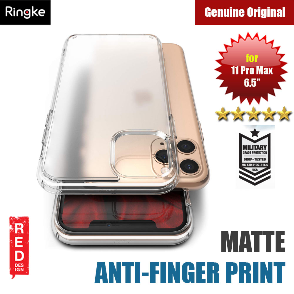 Picture of Ringke Fusion Matte Anti Fingerprint Extreme Tough Protection for Apple iPhone 11 Pro Max 6.5 (Matte Clear) Apple iPhone 11 Pro Max 6.5- Apple iPhone 11 Pro Max 6.5 Cases, Apple iPhone 11 Pro Max 6.5 Covers, iPad Cases and a wide selection of Apple iPhone 11 Pro Max 6.5 Accessories in Malaysia, Sabah, Sarawak and Singapore