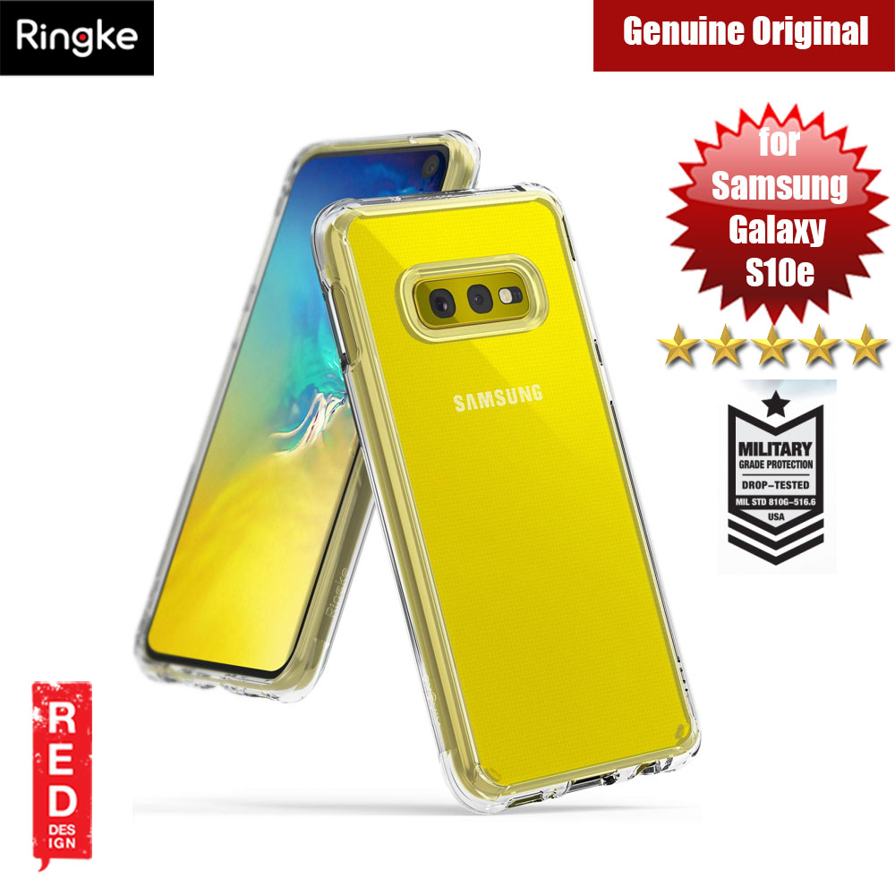Picture of Ringke Fusion Drop Protection Case for Samsung Galaxy S10e (Crystal Clear) Samsung Galaxy S10e- Samsung Galaxy S10e Cases, Samsung Galaxy S10e Covers, iPad Cases and a wide selection of Samsung Galaxy S10e Accessories in Malaysia, Sabah, Sarawak and Singapore