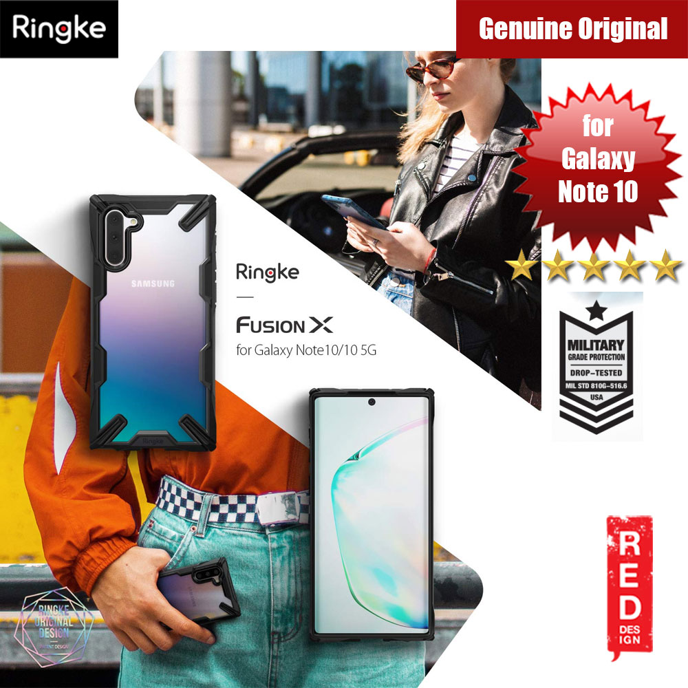 Picture of Ringke Fusion X Extreme Tough Protection Case for Samsung Galaxy Note 10 (Black) Samsung Galaxy Note 10- Samsung Galaxy Note 10 Cases, Samsung Galaxy Note 10 Covers, iPad Cases and a wide selection of Samsung Galaxy Note 10 Accessories in Malaysia, Sabah, Sarawak and Singapore
