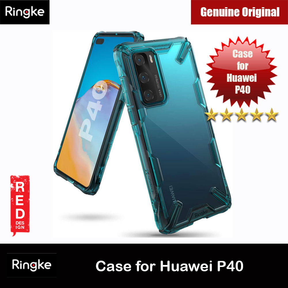 Picture of Ringke Fusion X Extreme Tough Protection Case for Huawei P40 (Turquoise Green) Huawei P40- Huawei P40 Cases, Huawei P40 Covers, iPad Cases and a wide selection of Huawei P40 Accessories in Malaysia, Sabah, Sarawak and Singapore