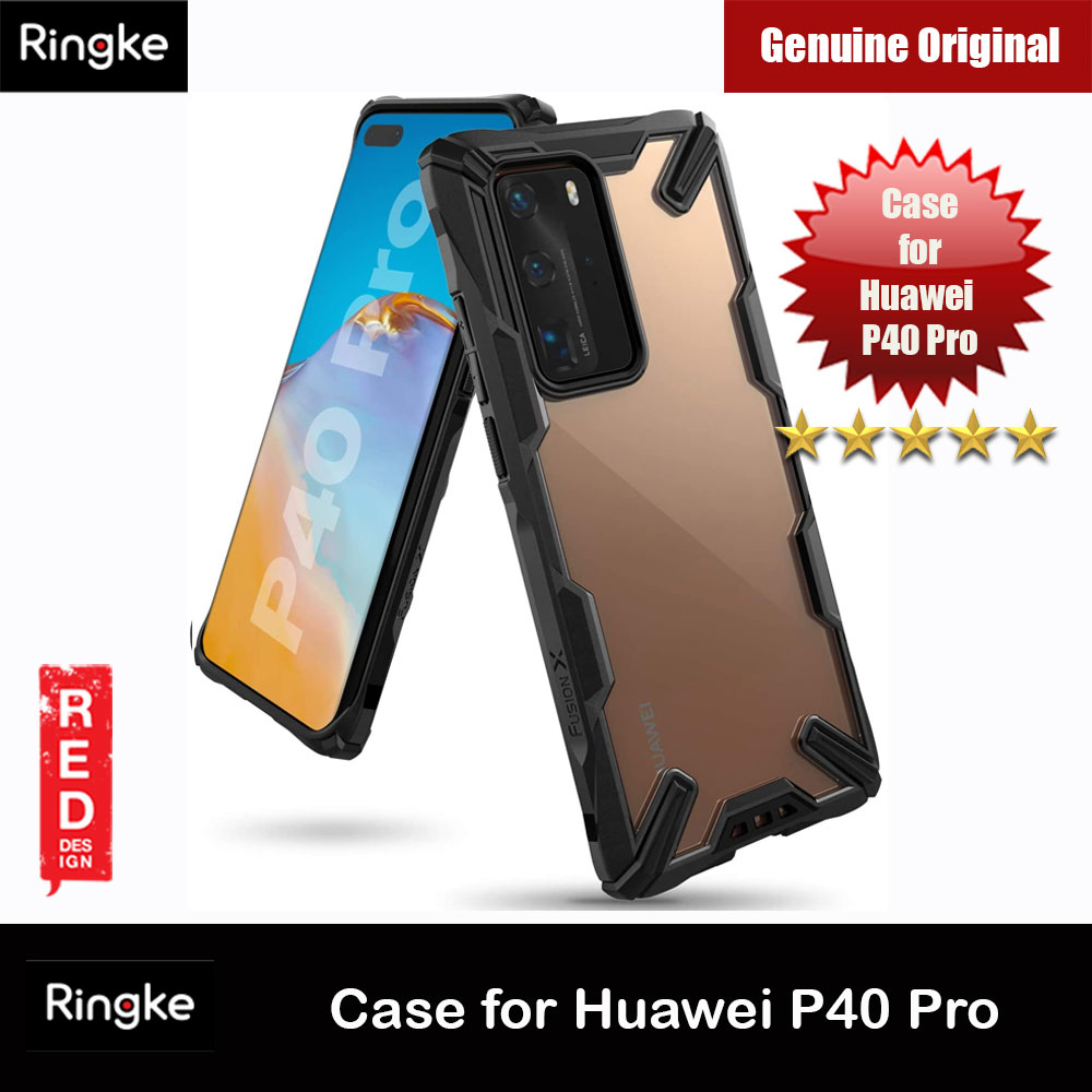 Picture of Ringke Fusion X Extreme Tough Protection Case for Huawei P40 Pro (Black) Huawei P40 Pro- Huawei P40 Pro Cases, Huawei P40 Pro Covers, iPad Cases and a wide selection of Huawei P40 Pro Accessories in Malaysia, Sabah, Sarawak and Singapore