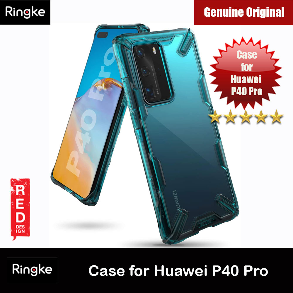 Picture of Ringke Fusion X Extreme Tough Protection Case for Huawei P40 Pro (Turquoise Green) Huawei P40 Pro- Huawei P40 Pro Cases, Huawei P40 Pro Covers, iPad Cases and a wide selection of Huawei P40 Pro Accessories in Malaysia, Sabah, Sarawak and Singapore