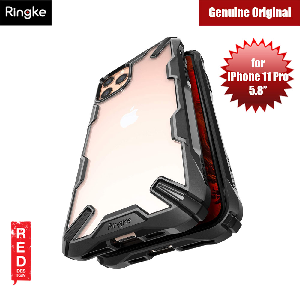 Picture of Ringke Fusion X Extreme Tough Protection for Apple iPhone 11 Pro (Black) Apple iPhone 11 Pro 5.8- Apple iPhone 11 Pro 5.8 Cases, Apple iPhone 11 Pro 5.8 Covers, iPad Cases and a wide selection of Apple iPhone 11 Pro 5.8 Accessories in Malaysia, Sabah, Sarawak and Singapore
