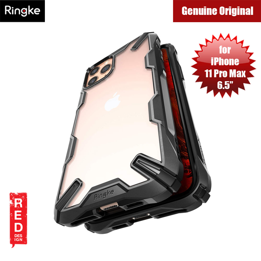 Picture of Ringke Fusion X Extreme Tough Protection for Apple iPhone 11 Pro Max (Black) Apple iPhone 11 Pro Max 6.5- Apple iPhone 11 Pro Max 6.5 Cases, Apple iPhone 11 Pro Max 6.5 Covers, iPad Cases and a wide selection of Apple iPhone 11 Pro Max 6.5 Accessories in Malaysia, Sabah, Sarawak and Singapore