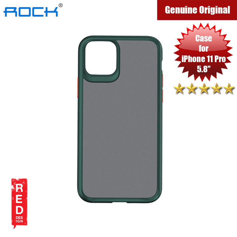 Picture of Rock Guard Pro Series Drop Protection Case for iPhone 11 Pro 5.8 (Matte Green) Apple iPhone 11 Pro 5.8- Apple iPhone 11 Pro 5.8 Cases, Apple iPhone 11 Pro 5.8 Covers, iPad Cases and a wide selection of Apple iPhone 11 Pro 5.8 Accessories in Malaysia, Sabah, Sarawak and Singapore