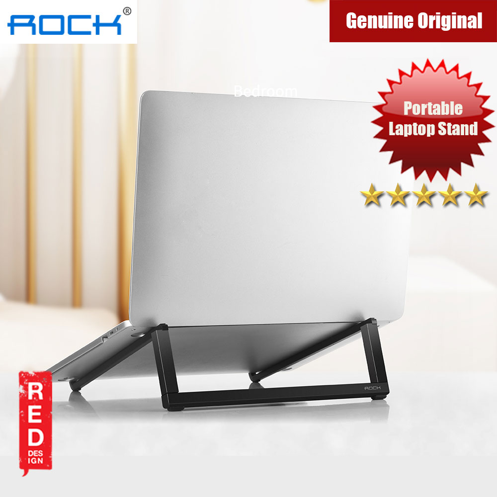 Picture of Rock Foldable Portable Table Laptop Stand 230gram lightweight (Black) iPhone Cases - iPhone 12, iPhone 12 Pro max, iPhone 11, iPhone 11 Pro Max, iPhone XS Max, iPhone X,iPhone SE,Galaxy Note 20 Ultra ,iPhone 8 Plus Cases Malaysia,iPad Air Pro Cases and a wide selection of Accessories in Malaysia, Sabah, Sarawak and Singapore.
