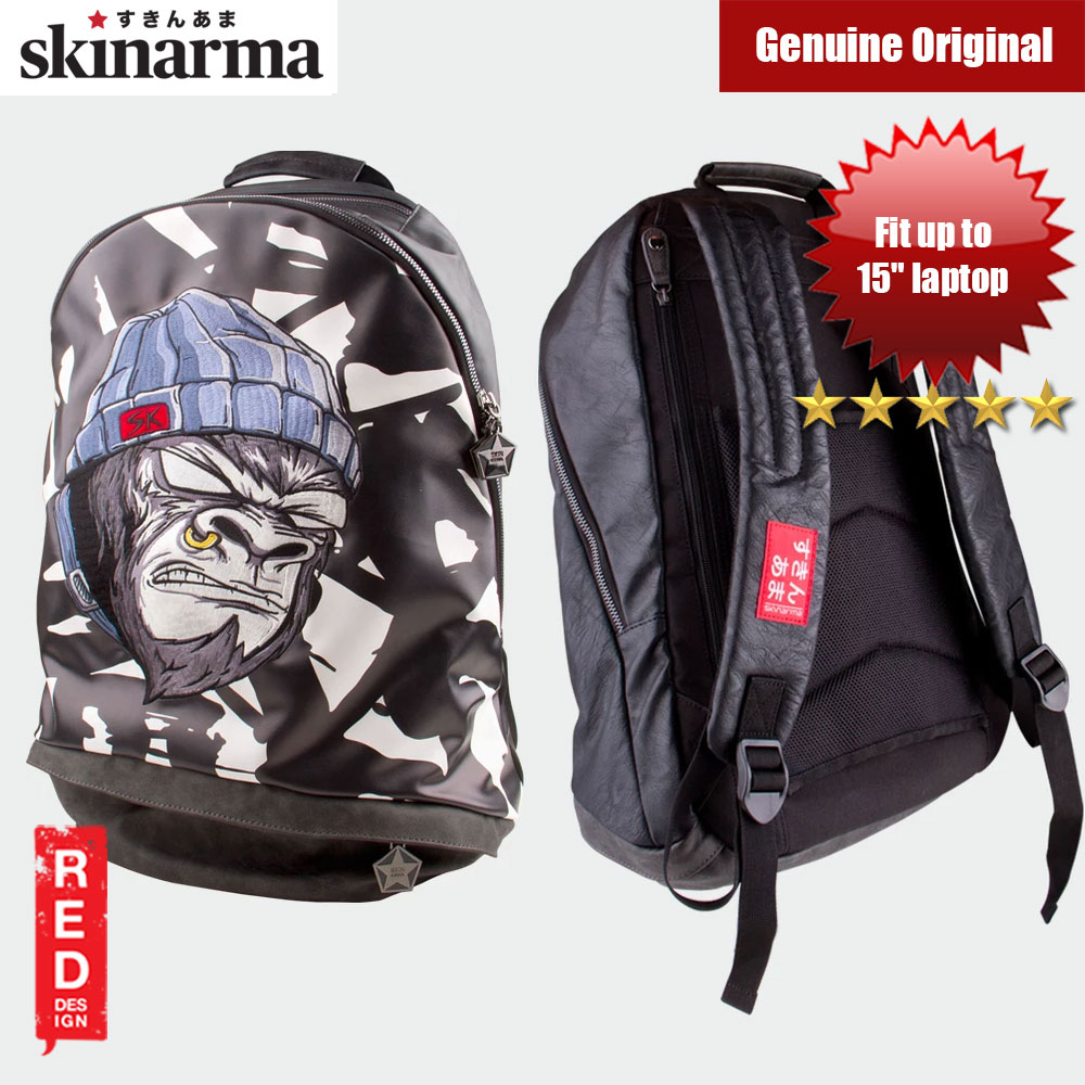 Picture of Skinarma Versatlie Day Pack Fashion Laptop Backpack up to 14 inches Laptop (Kimono Saru) Red Design- Red Design Cases, Red Design Covers, iPad Cases and a wide selection of Red Design Accessories in Malaysia, Sabah, Sarawak and Singapore