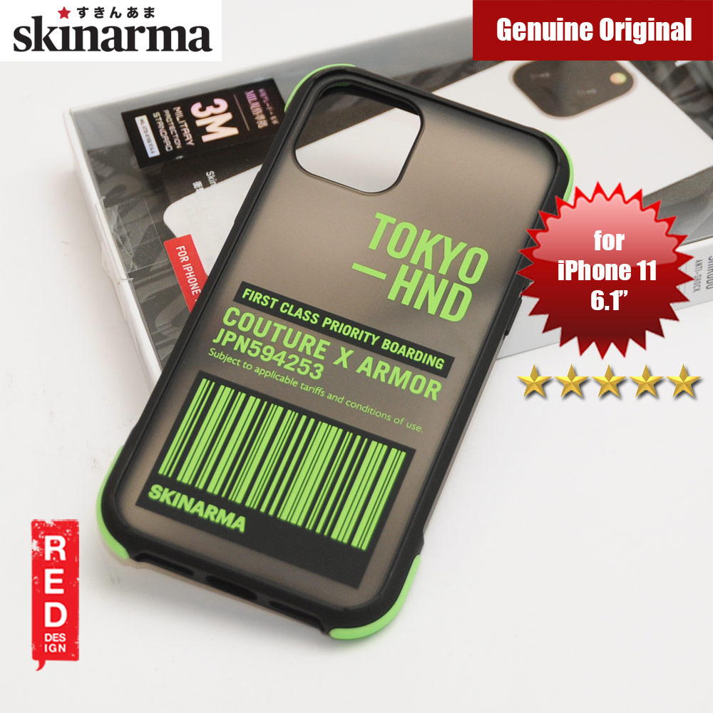 Picture of Skinarma Matte Drop Protection Snap Back Case for Apple iPhone 11 6.1 (Bando Sheer Green) Apple iPhone 11 6.1- Apple iPhone 11 6.1 Cases, Apple iPhone 11 6.1 Covers, iPad Cases and a wide selection of Apple iPhone 11 6.1 Accessories in Malaysia, Sabah, Sarawak and Singapore