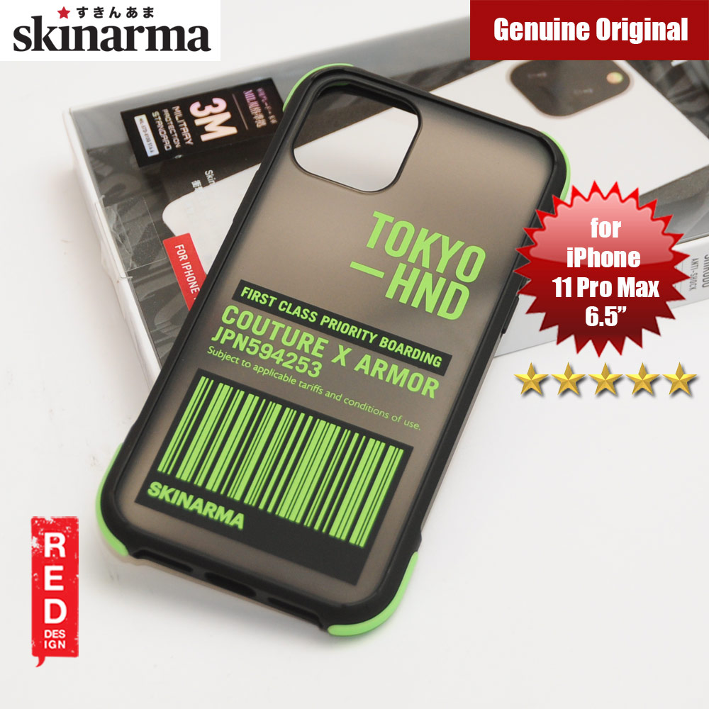 Picture of Skinarma Matte Drop Protection Snap Back Case for Apple iPhone 11 Pro Max 6.5 (Bando Sheer Green) Apple iPhone 11 Pro Max 6.5- Apple iPhone 11 Pro Max 6.5 Cases, Apple iPhone 11 Pro Max 6.5 Covers, iPad Cases and a wide selection of Apple iPhone 11 Pro Max 6.5 Accessories in Malaysia, Sabah, Sarawak and Singapore