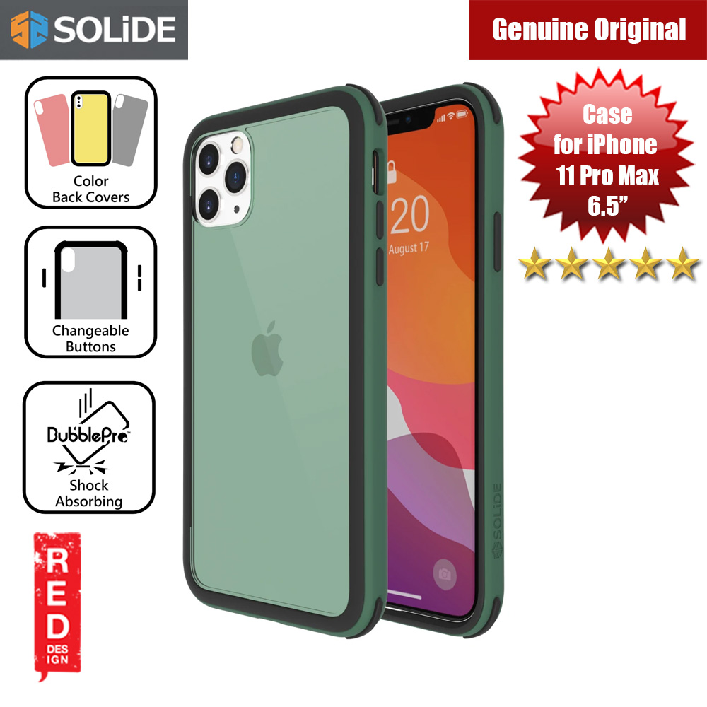 Picture of SOLiDE Venus EX Color Player Shock Absorbing Protection Case for Apple iPhone 11 Pro Max 6.5 (Green Black) Apple iPhone 11 Pro Max 6.5- Apple iPhone 11 Pro Max 6.5 Cases, Apple iPhone 11 Pro Max 6.5 Covers, iPad Cases and a wide selection of Apple iPhone 11 Pro Max 6.5 Accessories in Malaysia, Sabah, Sarawak and Singapore