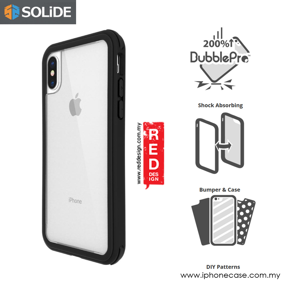 Picture of SOLiDE Venus DIY Case for Apple iPhone X (Black) Apple iPhone X- Apple iPhone X Cases, Apple iPhone X Covers, iPad Cases and a wide selection of Apple iPhone X Accessories in Malaysia, Sabah, Sarawak and Singapore