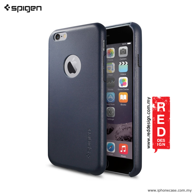 Picture of Spigen Leather Fit for Apple iPhone 6 iPhone 6S 4.7 - Midnight Blue Apple iPhone 6S 4.7- Apple iPhone 6S 4.7 Cases, Apple iPhone 6S 4.7 Covers, iPad Cases and a wide selection of Apple iPhone 6S 4.7 Accessories in Malaysia, Sabah, Sarawak and Singapore