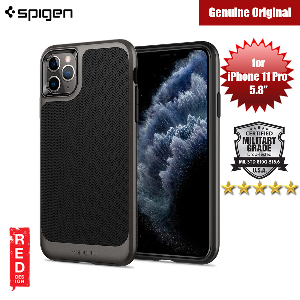 Picture of Spigen Neo Hybrid Drop Protection Case for Apple iPhone 11 Pro 5.8 (Gunmetal) Apple iPhone 11 Pro 5.8- Apple iPhone 11 Pro 5.8 Cases, Apple iPhone 11 Pro 5.8 Covers, iPad Cases and a wide selection of Apple iPhone 11 Pro 5.8 Accessories in Malaysia, Sabah, Sarawak and Singapore