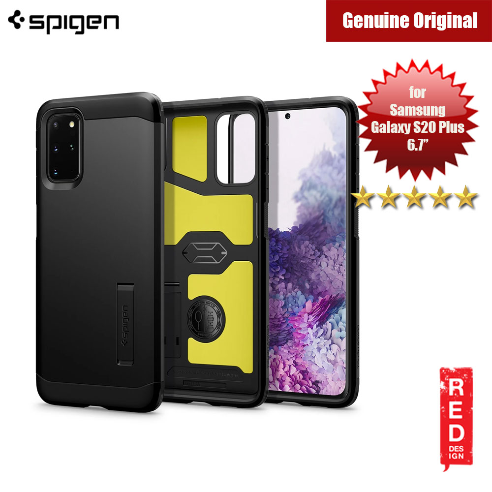 Picture of Spigen Tough Armor Drop Protection Case for Samsusng Galaxy S20 Plus 6.7 (Black) Samsung Galaxy S20 Plus 6.7- Samsung Galaxy S20 Plus 6.7 Cases, Samsung Galaxy S20 Plus 6.7 Covers, iPad Cases and a wide selection of Samsung Galaxy S20 Plus 6.7 Accessories in Malaysia, Sabah, Sarawak and Singapore
