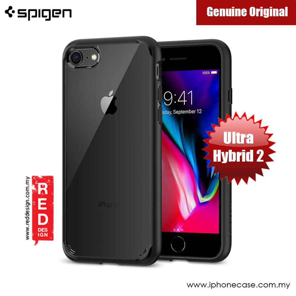 Picture of Spigen Ultra Hybrid 2 Protection Case for Apple iPhone 7 iPhone 8 4.7 (Black) Apple iPhone 8- Apple iPhone 8 Cases, Apple iPhone 8 Covers, iPad Cases and a wide selection of Apple iPhone 8 Accessories in Malaysia, Sabah, Sarawak and Singapore