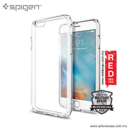 Picture of Spigen Ultra Hybrid Protection Case for iPhone 6 iPhone 6S 4.7 - Crystal Clear Apple iPhone 6S 4.7- Apple iPhone 6S 4.7 Cases, Apple iPhone 6S 4.7 Covers, iPad Cases and a wide selection of Apple iPhone 6S 4.7 Accessories in Malaysia, Sabah, Sarawak and Singapore