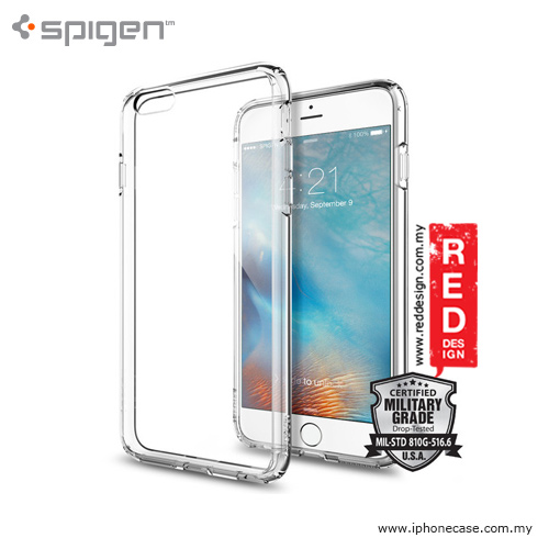 Picture of Spigen Ultra Hybrid Protection Case for iPhone 6 Plus 5.5 iPhone 6S Plus 5.5 - Crystal Clear Apple iPhone 6 Plus 5.5- Apple iPhone 6 Plus 5.5 Cases, Apple iPhone 6 Plus 5.5 Covers, iPad Cases and a wide selection of Apple iPhone 6 Plus 5.5 Accessories in Malaysia, Sabah, Sarawak and Singapore