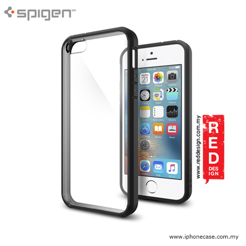 Picture of Spigen Ultra Hybrid Case for iPhone SE iPhone 5 iPhone 5S - Black Apple iPhone SE- Apple iPhone SE Cases, Apple iPhone SE Covers, iPad Cases and a wide selection of Apple iPhone SE Accessories in Malaysia, Sabah, Sarawak and Singapore