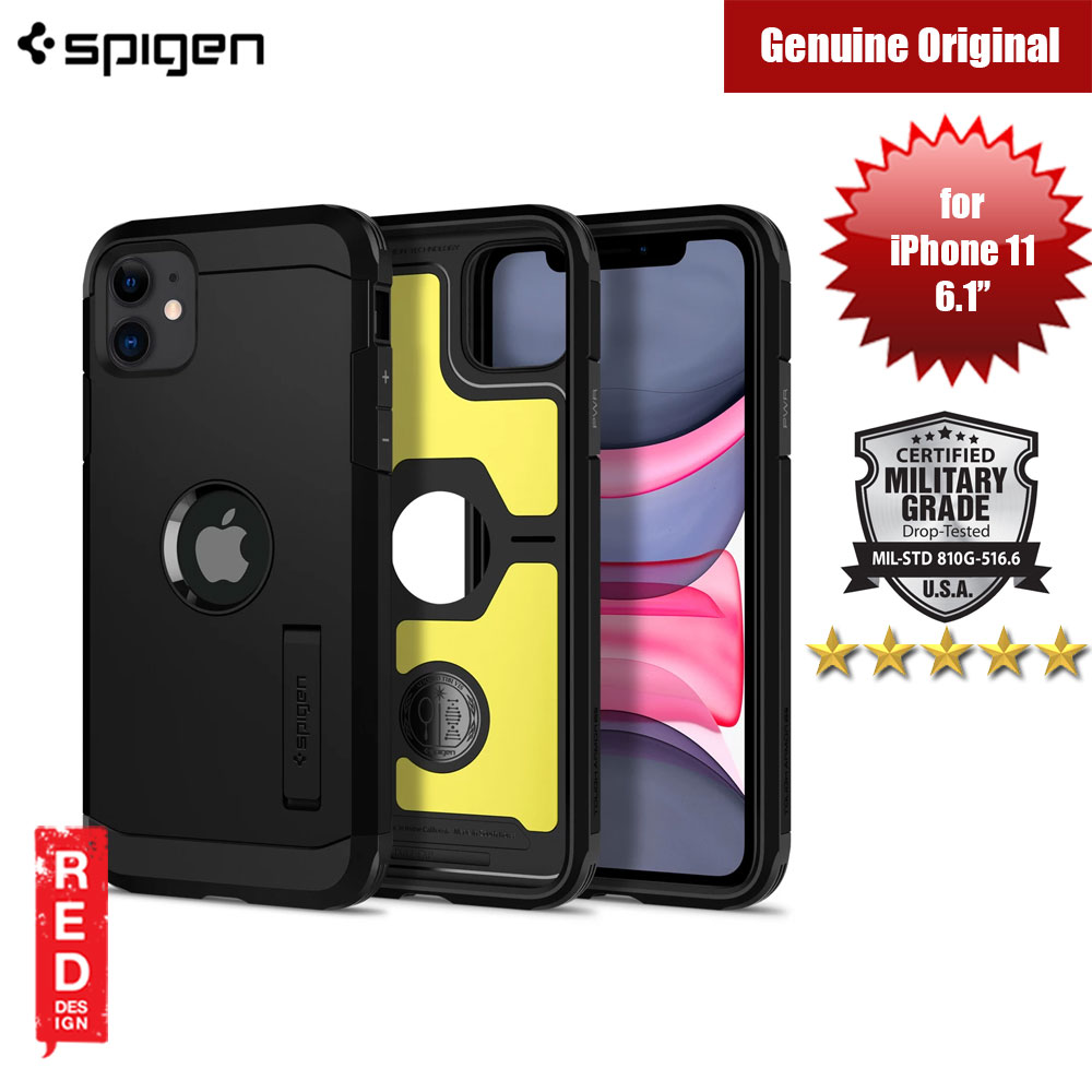 Picture of Spigen Tough Armor XP Drop Protection Case for Apple iPhone 11 6.1 (Black) Apple iPhone 11 6.1- Apple iPhone 11 6.1 Cases, Apple iPhone 11 6.1 Covers, iPad Cases and a wide selection of Apple iPhone 11 6.1 Accessories in Malaysia, Sabah, Sarawak and Singapore