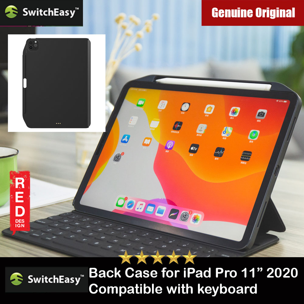 "Picture of Switcheasy Coverbuddy Back Cover Case Compatible with Smart Keybord Folio for Apple iPad Pro 11"" 2nd Gen 2020 (Black) Apple iPad Pro 11 2nd gen 2020- Apple iPad Pro 11 2nd gen 2020 Cases, Apple iPad Pro 11 2nd gen 2020 Covers, iPad Cases and a wide selection of Apple iPad Pro 11 2nd gen 2020 Accessories in Malaysia, Sabah, Sarawak and Singapore"