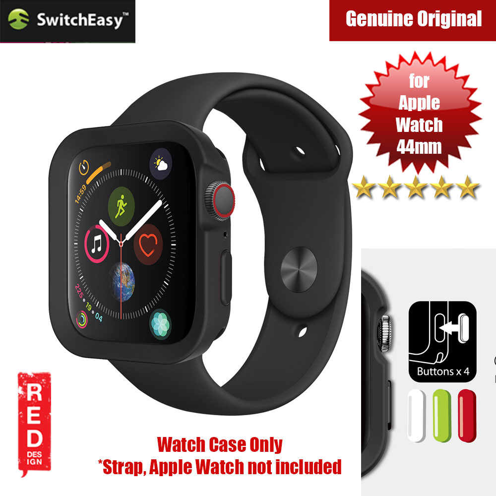 Picture of Switcheasy Color Series Case for Apple Watch 44mm (Black) Apple Watch 44mm- Apple Watch 44mm Cases, Apple Watch 44mm Covers, iPad Cases and a wide selection of Apple Watch 44mm Accessories in Malaysia, Sabah, Sarawak and Singapore