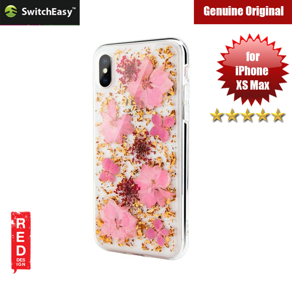 Picture of Switcheasy Flash Floral Series Case with Camera Lens Protection for Apple iPhone XS Max (Luscious) Apple iPhone XS Max- Apple iPhone XS Max Cases, Apple iPhone XS Max Covers, iPad Cases and a wide selection of Apple iPhone XS Max Accessories in Malaysia, Sabah, Sarawak and Singapore