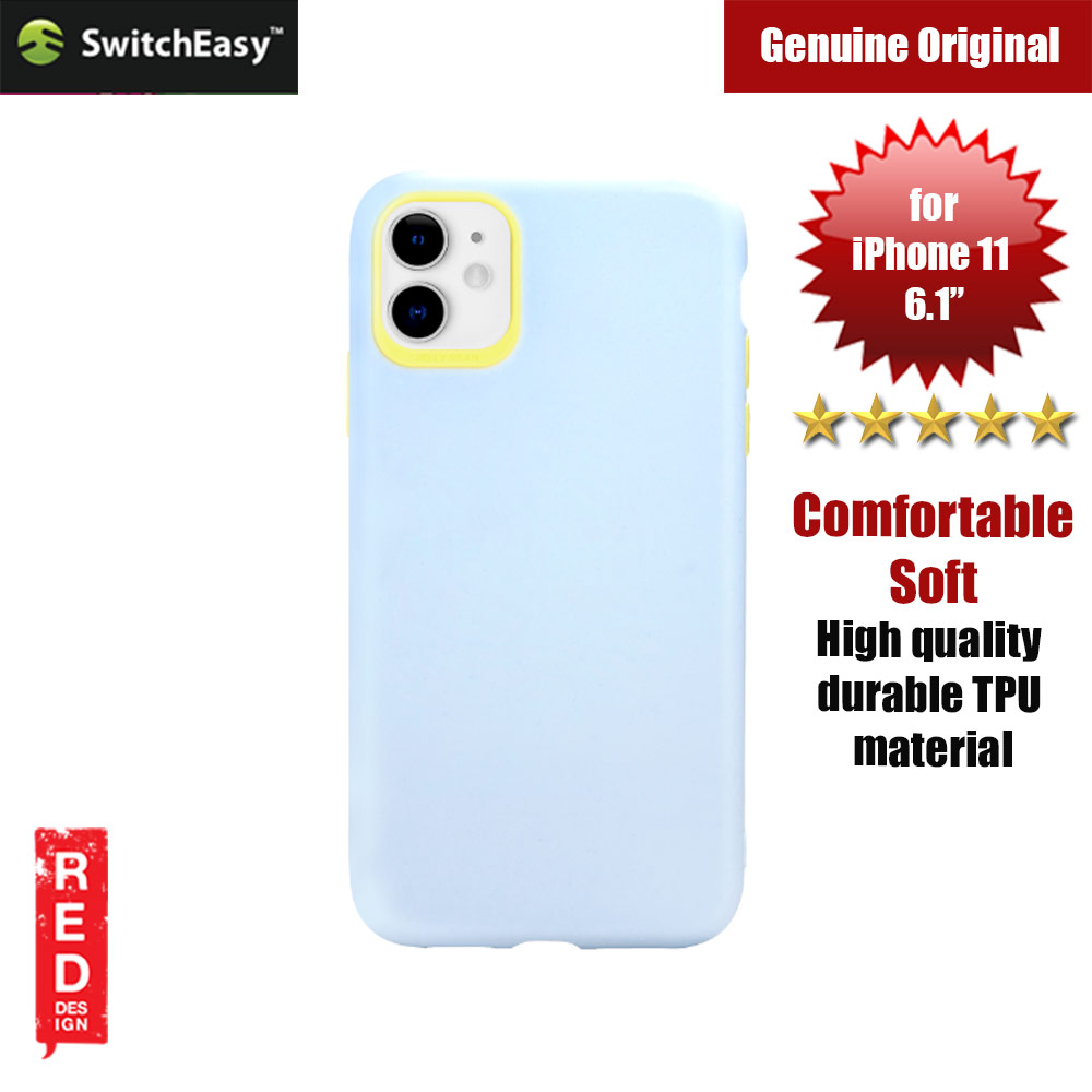 Picture of Switcheasy Jelly Bean Colors Comfortable Case for Apple iPhone 11 6.1 (Blue) Apple iPhone 11 6.1- Apple iPhone 11 6.1 Cases, Apple iPhone 11 6.1 Covers, iPad Cases and a wide selection of Apple iPhone 11 6.1 Accessories in Malaysia, Sabah, Sarawak and Singapore
