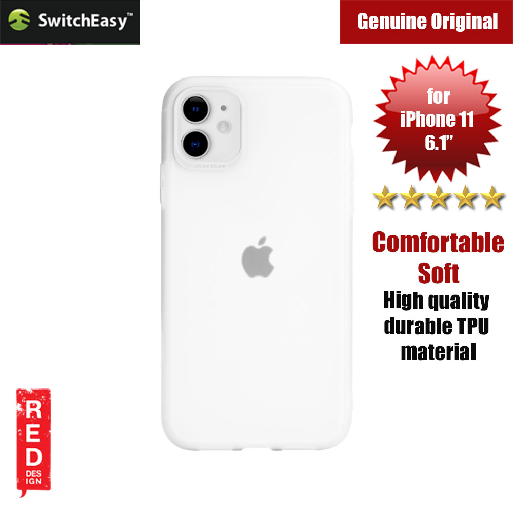 Picture of Switcheasy Jelly Bean Colors Comfortable Case for Apple iPhone 11 6.1 (White) Apple iPhone 11 6.1- Apple iPhone 11 6.1 Cases, Apple iPhone 11 6.1 Covers, iPad Cases and a wide selection of Apple iPhone 11 6.1 Accessories in Malaysia, Sabah, Sarawak and Singapore