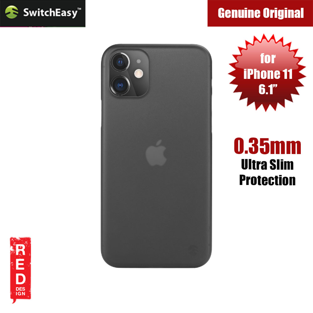 Picture of Switcheasy 0.35mm Ultra Thin and Light Case for Apple iPhone 11 6.1 (Black) Apple iPhone 11 6.1- Apple iPhone 11 6.1 Cases, Apple iPhone 11 6.1 Covers, iPad Cases and a wide selection of Apple iPhone 11 6.1 Accessories in Malaysia, Sabah, Sarawak and Singapore