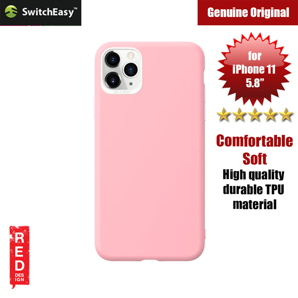 Picture of Switcheasy Jelly Bean Colors Comfortable Case for Apple iPhone 11 Pro 5.8 (Pink) Apple iPhone 11 Pro 5.8- Apple iPhone 11 Pro 5.8 Cases, Apple iPhone 11 Pro 5.8 Covers, iPad Cases and a wide selection of Apple iPhone 11 Pro 5.8 Accessories in Malaysia, Sabah, Sarawak and Singapore