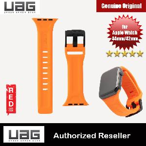 Picture of UAG Scout Silicone Watch Strap for Apple Watch 42mm 44mm Series 4 Series 5 Series 6 Series SE (Black)