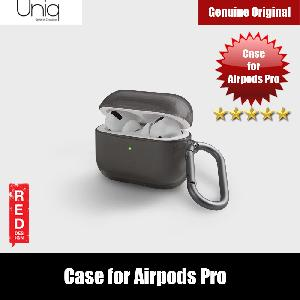 Picture of Apple Airpods Pro Case | Uniq Glase Drop Protection TPU Soft Case for Airpods Pro (Clear)
