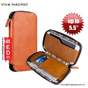 Picture of Apple iPhone 5 Case | Viva Madrid Robusto Universal Weather Proof Wallet Case Phone Pocket for Apple iPhone X or up to 5.5