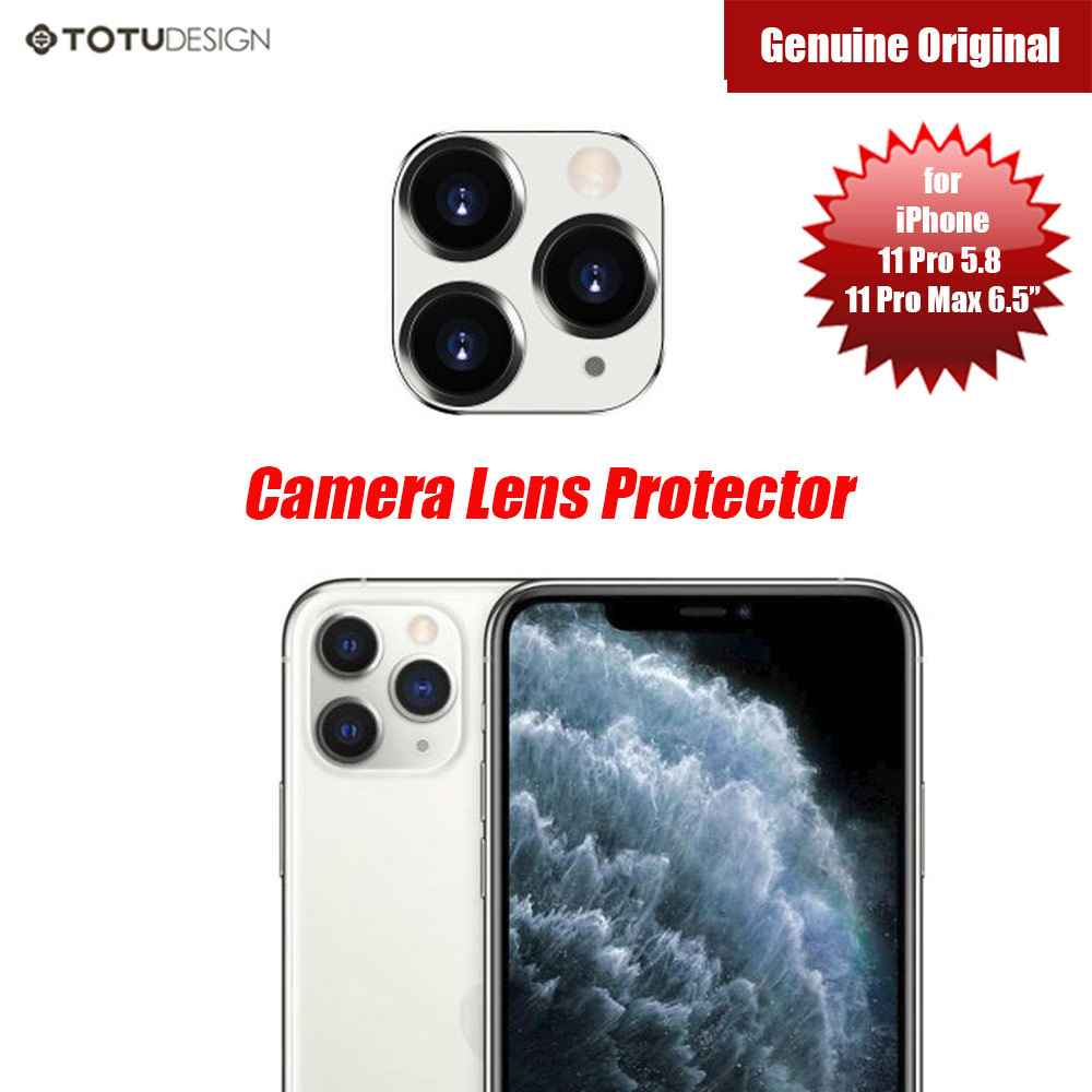 Picture of Totu Series Camera Lens Protection for iPhone 11 Pro 5.8 iPhone 11 Pro Max 6.5 (White) Apple iPhone 11 Pro Max 6.5- Apple iPhone 11 Pro Max 6.5 Cases, Apple iPhone 11 Pro Max 6.5 Covers, iPad Cases and a wide selection of Apple iPhone 11 Pro Max 6.5 Accessories in Malaysia, Sabah, Sarawak and Singapore