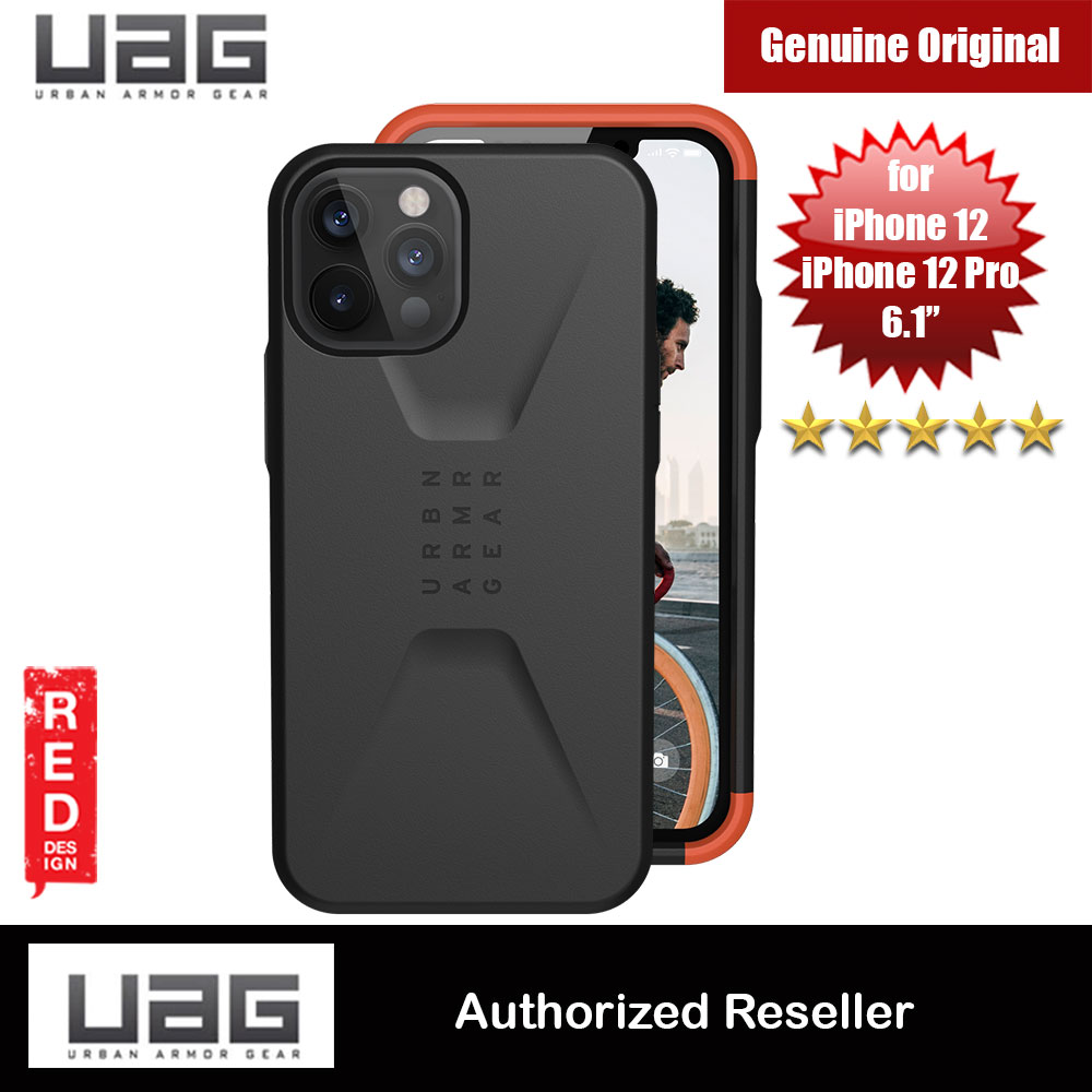 Picture of UAG Urban Armor Gear Protection Case Civilian Series for iPhone 12 iPhone 12 Pro 6.1 (Black) Apple iPhone 12 6.1- Apple iPhone 12 6.1 Cases, Apple iPhone 12 6.1 Covers, iPad Cases and a wide selection of Apple iPhone 12 6.1 Accessories in Malaysia, Sabah, Sarawak and Singapore