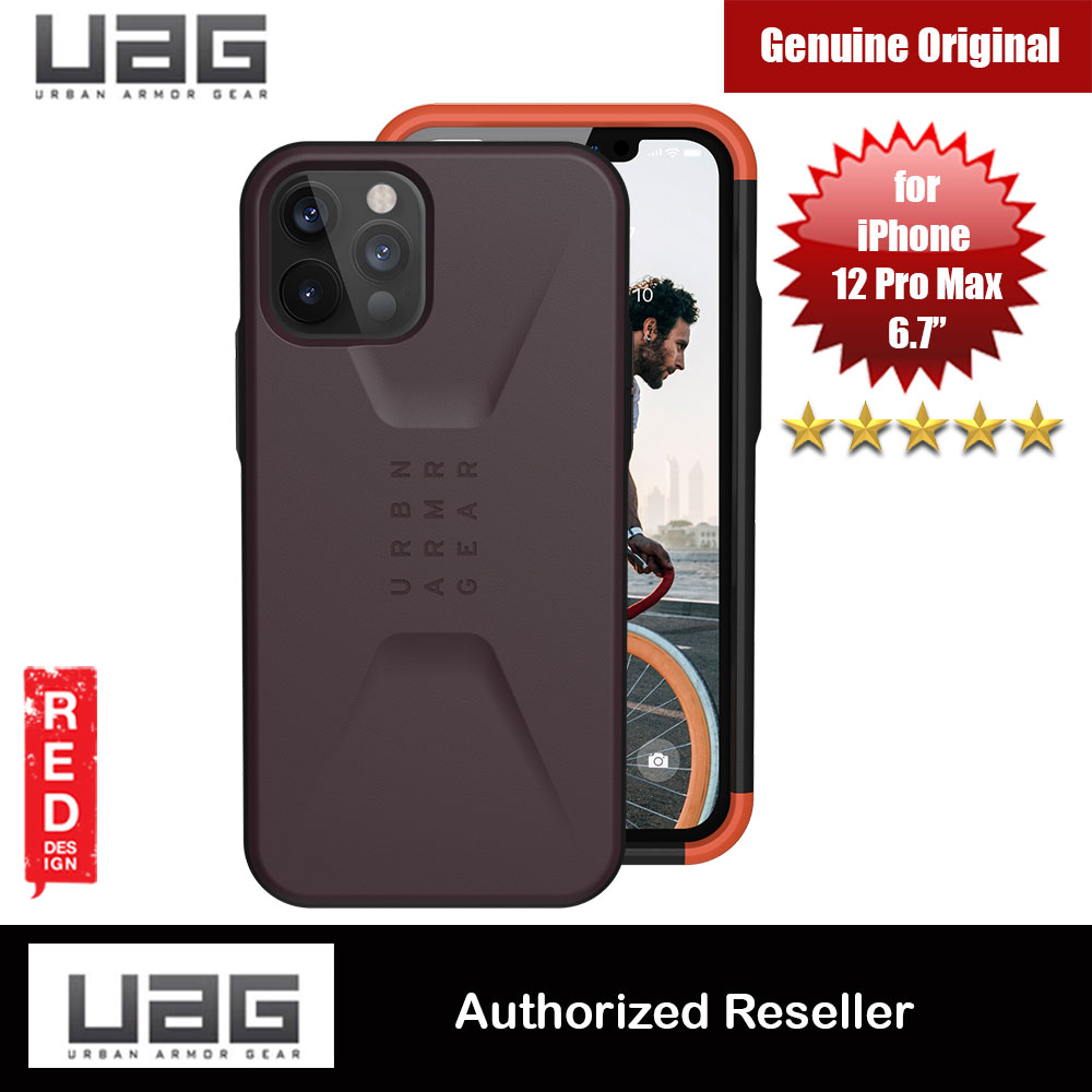 Picture of UAG Urban Armor Gear Protection Case Civilian Series for iPhone 12 Pro Max 6.7 (Eggplant) Apple iPhone 11 Pro Max 6.5- Apple iPhone 11 Pro Max 6.5 Cases, Apple iPhone 11 Pro Max 6.5 Covers, iPad Cases and a wide selection of Apple iPhone 11 Pro Max 6.5 Accessories in Malaysia, Sabah, Sarawak and Singapore