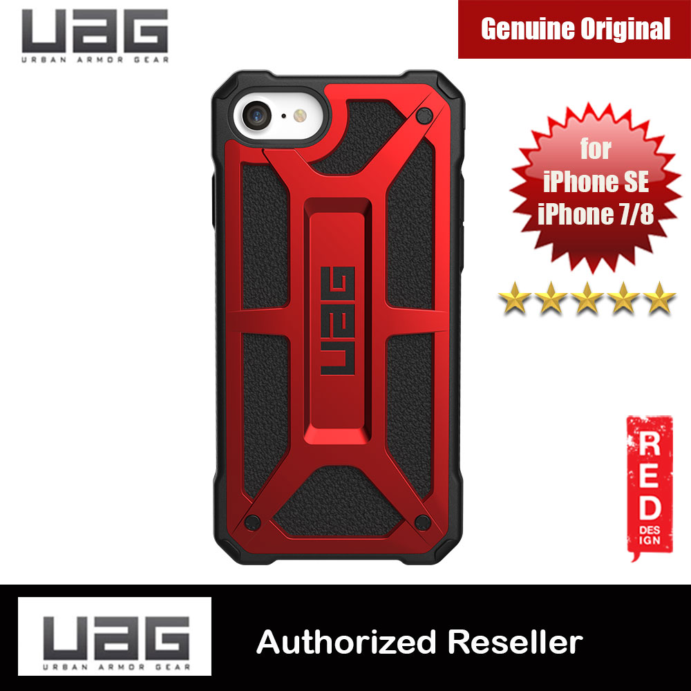 Picture of UAG Monarch Series Protection Case for Apple iPhone SE 2020 iPhone 7 iPhone 8 (Crimson Red) Apple iPhone 7 4.7- Apple iPhone 7 4.7 Cases, Apple iPhone 7 4.7 Covers, iPad Cases and a wide selection of Apple iPhone 7 4.7 Accessories in Malaysia, Sabah, Sarawak and Singapore