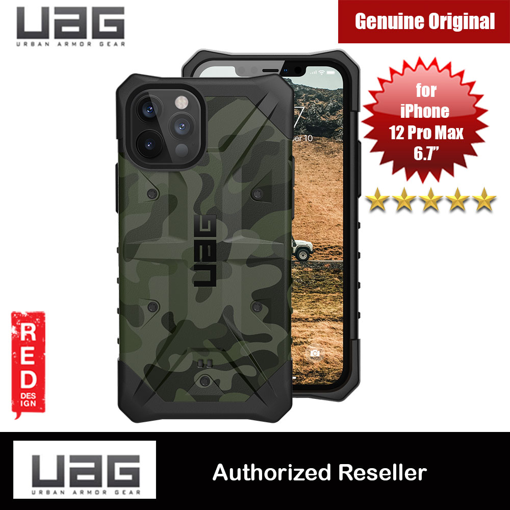 Picture of UAG Urban Armor Gear Protection Case Pathfinder SE Series for iPhone 12 Pro Max 6.7 (Forest Camo) Apple iPhone 12 Pro Max 6.7- Apple iPhone 12 Pro Max 6.7 Cases, Apple iPhone 12 Pro Max 6.7 Covers, iPad Cases and a wide selection of Apple iPhone 12 Pro Max 6.7 Accessories in Malaysia, Sabah, Sarawak and Singapore