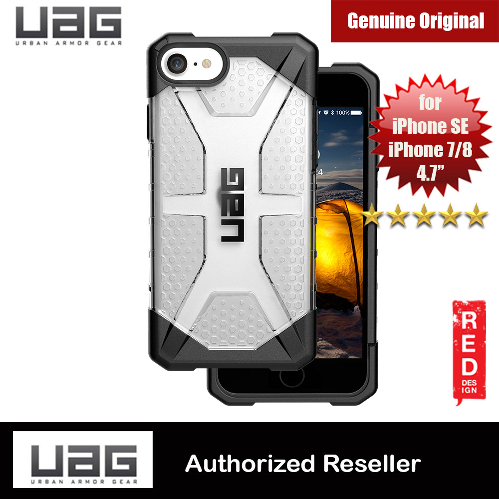 Picture of UAG Plasma Series Protection Case for Apple iPhone SE 2020 iPhone 7 iPhone 8 (Ice Clear) Apple iPhone 7 4.7- Apple iPhone 7 4.7 Cases, Apple iPhone 7 4.7 Covers, iPad Cases and a wide selection of Apple iPhone 7 4.7 Accessories in Malaysia, Sabah, Sarawak and Singapore